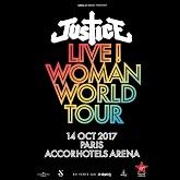 JUSTICE : billet et place de concert