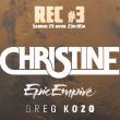 Concert CHRISTINE + EPIC EMPIRE + GREG KOZO + MAYSGOLD + OUTLAW à Nancy @ L'AUTRE CANAL - Billets & Places