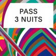 THE PEACOCK SOCIETY FESTIVAL 2016 - PASS 3 NUITS - REGULAR BABY