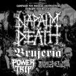 Concert NAPALM DEATH + BRUJERIA + POWER TRIP + LOCK UP