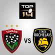 Match RC TOULON - LA ROCHELLE