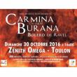 Concert CARMINA BURANA de C.ORFF et  BOLERO de RAVEL