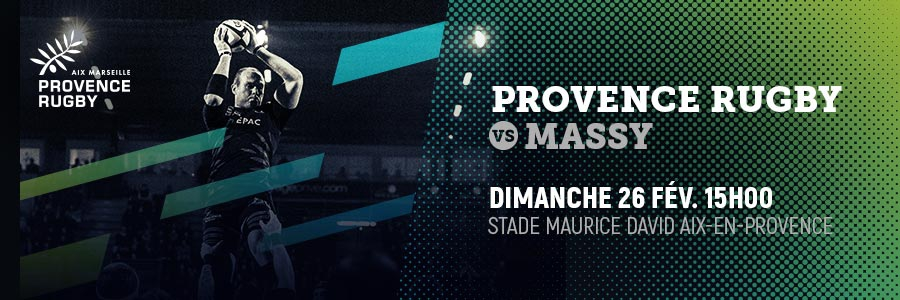 PROVENCE RUGBY / MASSY