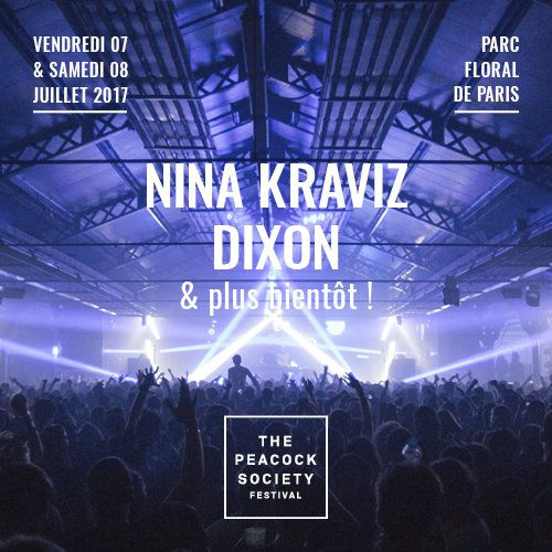 Billets THE PEACOCK SOCIETY FESTIVAL 2017 - PASS 2 NUITS