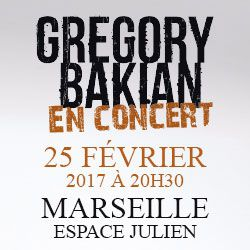 Billets GREGORY BAKIAN