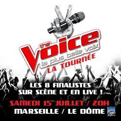 Billets THE VOICE, LA TOURNEE