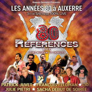 Concert les ann es 80 auxerre auxerrexpo billets for Auxerrexpo 2017