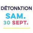 SAMEDI 30/09/2017 FESTIVAL DETONATION à BESANCON @ FRICHE ARTISTIQUE - Billets & Places