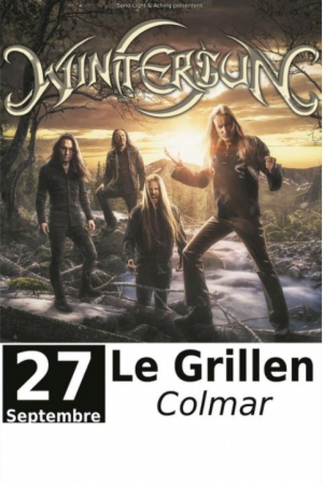 Concert WINTERSUN à COLMAR @ Le GRILLEN - Billets & Places
