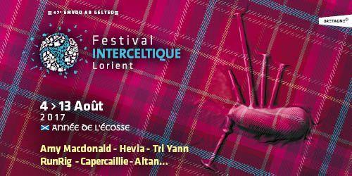 Billets Festival Interceltique de Lorient 2017